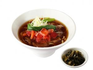 トマト牛肉麺 (2)