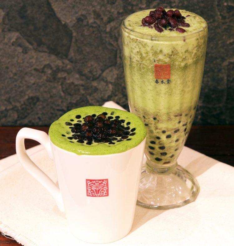 タピオカ抹茶小豆ミルク2