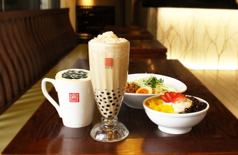 タピオカミルクティー発祥の台湾カフェ「春水堂」