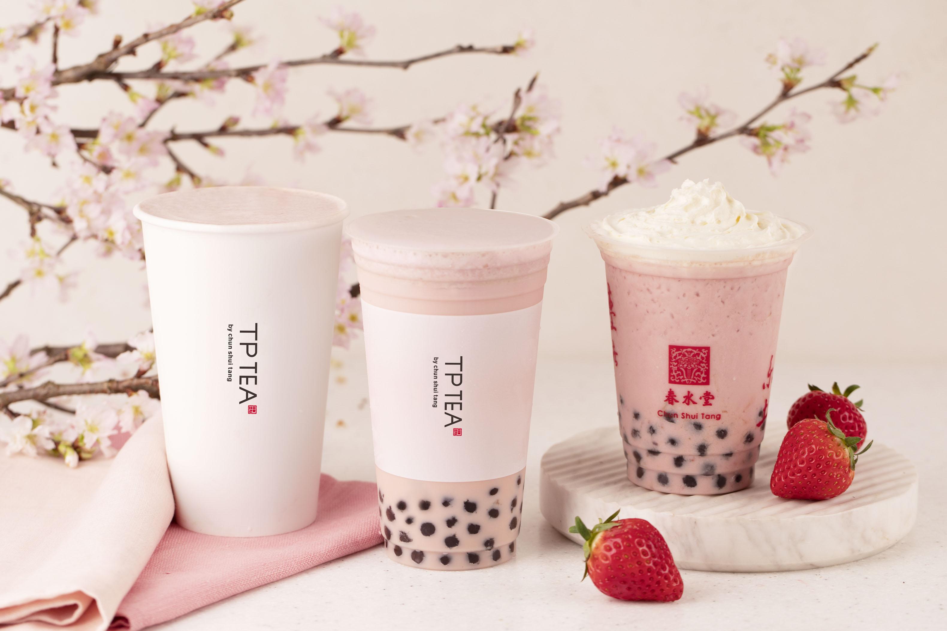 春水堂、TP TEAの桜スタンプラリー