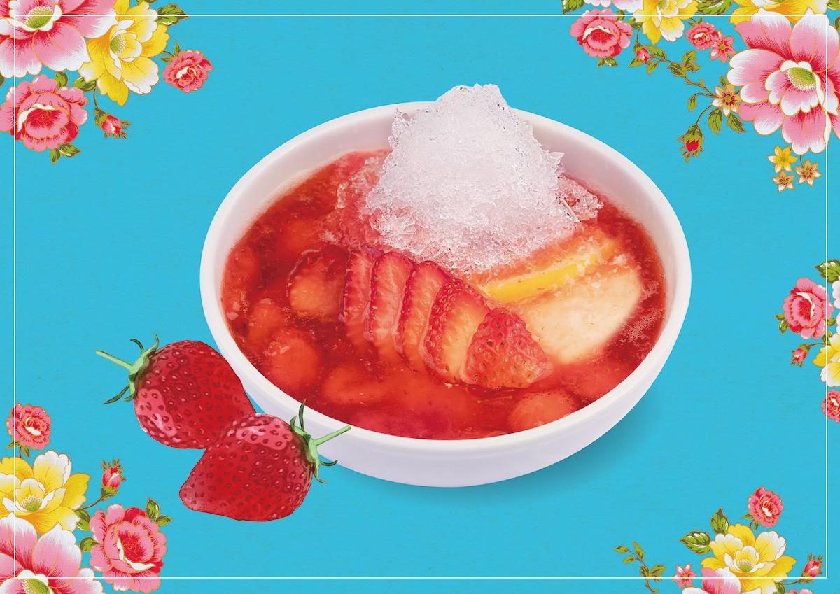 8/1『苺かき氷豆花』夏季限定・新発売