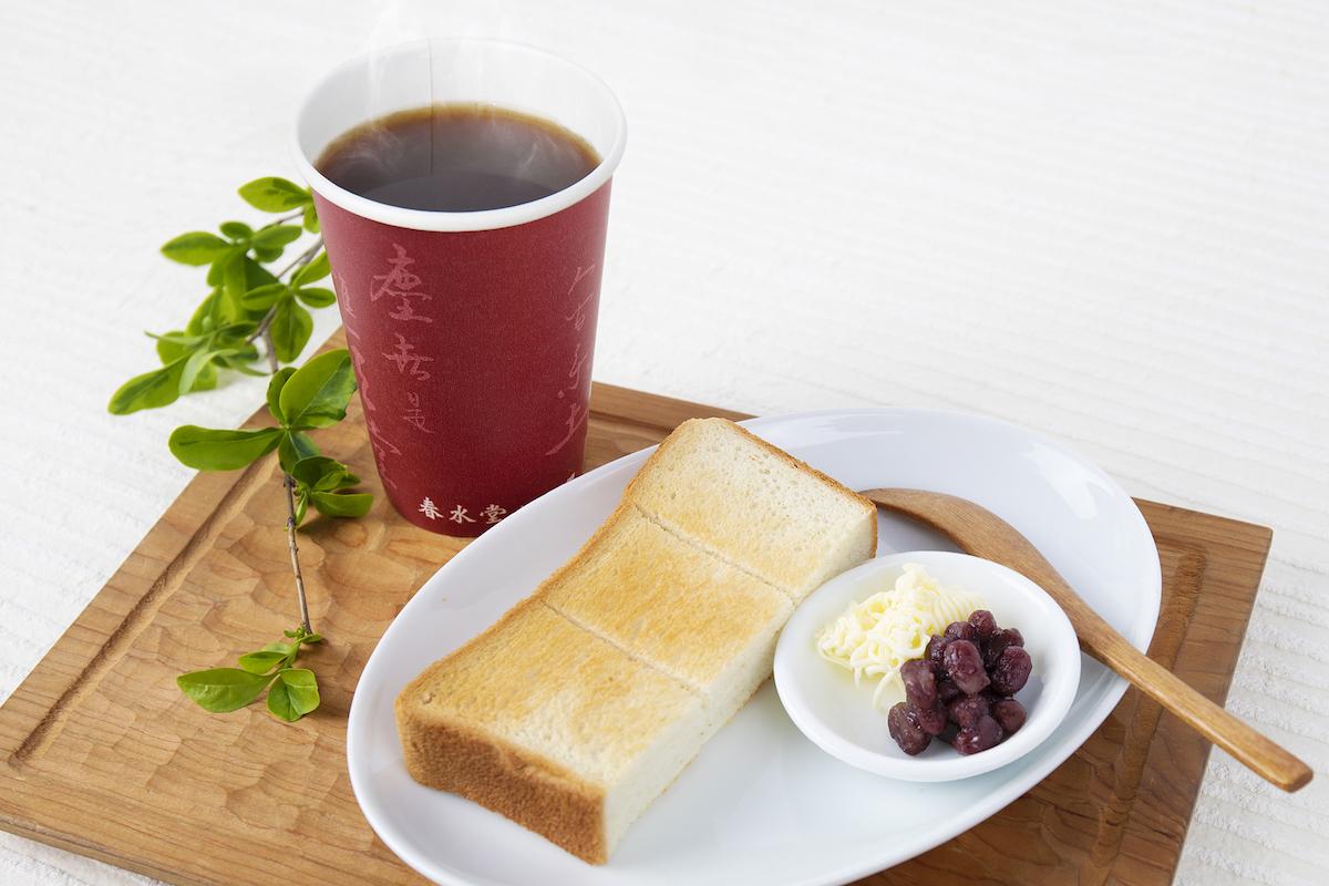 「トーストセット」500円(税込)